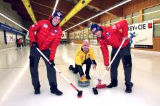 Curling-Duell: AUT vs. GER