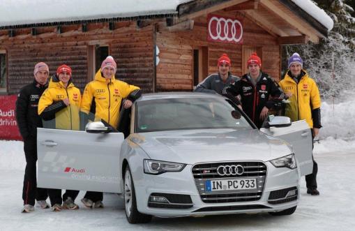 DSV-Adler begeistert von Audi driving experience