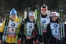 Weltcup in Ruhpolding 2013 - Staffel der Damen
