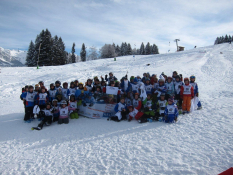 Grundschulwettbewerb Skispringen 2013