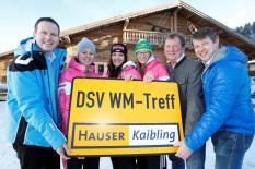 FIS Alpine Ski-WM 2013 - DSV WM-Treff in Haus im Ennstal