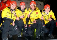 Katharina Althaus, Ramona Straub, Svenja Würth, Pauline Heßler