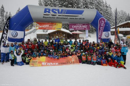 Schneekristall Kinderskitag