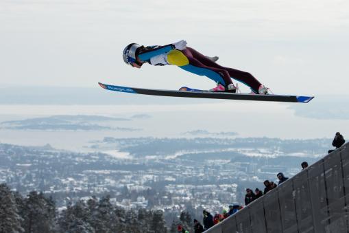 Skisprung: FIS World Cup Skisprung Damen - Oslo (NOR) - 17.03.2013