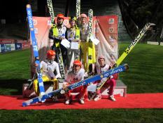 Siegerehrung DM 2013, Oberstdorf
