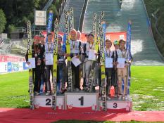 Siegerehrung Teamspringen DM 2013