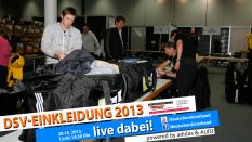 Livestream DSV-Einkleidung 2013