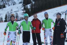 DSV-Stars trainieren in Oberjoch