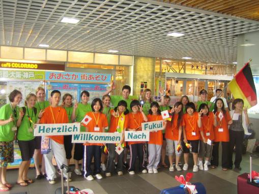 Deutsch-Japanischer Jugendaustausch, Fukui