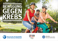 DOSB - Bewegung gegen Krebs