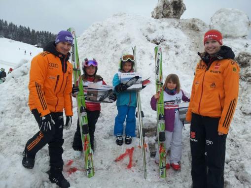 Landesfinale BW Auf die Plätze fertig Ski