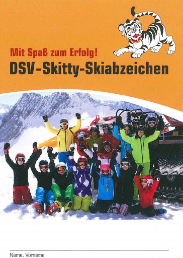 Skitty Skiabzeichen