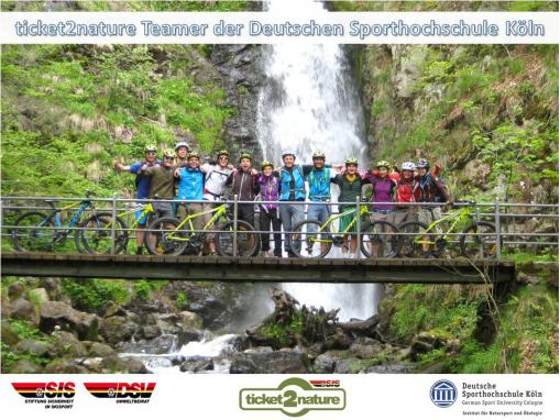 Teamfoto ticket2nature Sommer 2014