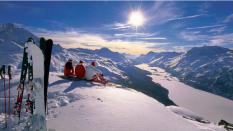 Schweiz, Gipfel, Sonne
