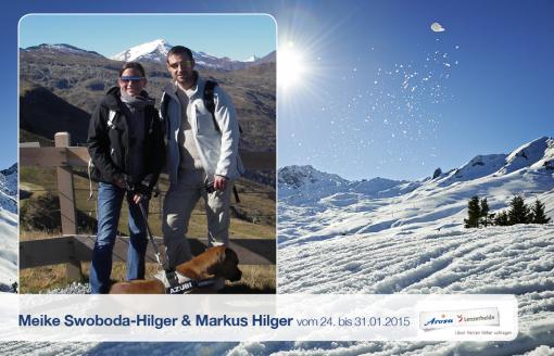 Meike Swoboda-Hilger, Markus Hilger und Kasper