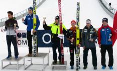 Alpencup Seefeld Siegerehrung
