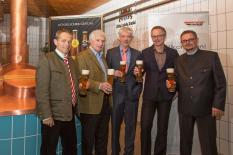 Handshake König-Ludwig-Brauerei