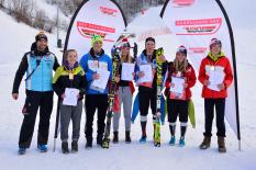 Siegerehrung DSV Schülercup Alpin Garmisch-Partenkirchen