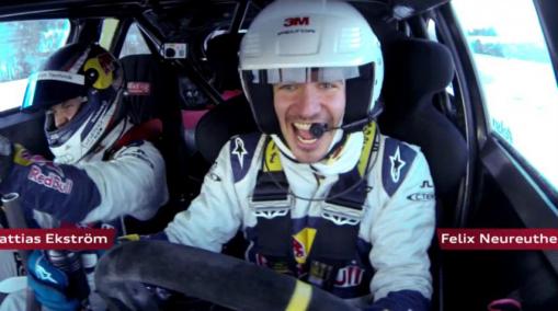 Felix Neureuther - Audi quattro slalom challenge