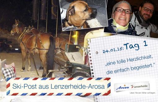 Arosa-Lenzerheide, Tag 1