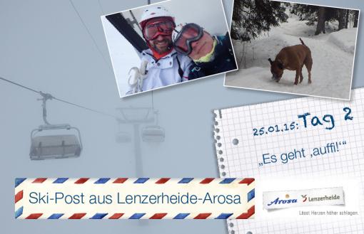 Arosa-Lenzerheide, Tag 2