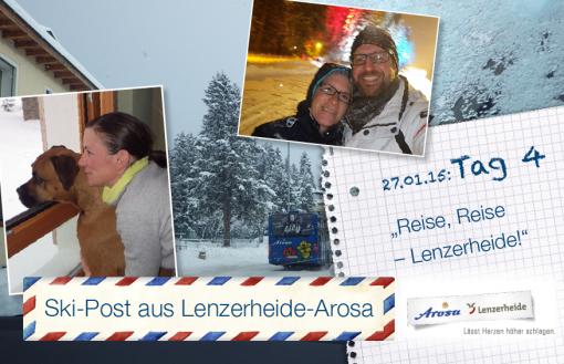 Arosa-Lenzerheide, Tag 4