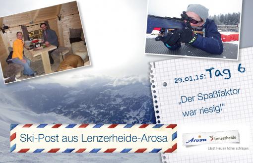 Arosa-Lenzerheide, Tag 6