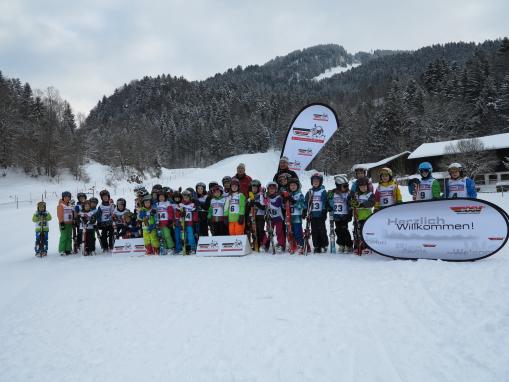 Grundschulwettbewerb Skisprung Sachrang