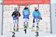 Podest FIS-Rennen Oberjoch