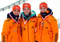 Luisa Goerlich, Agnes Reisch, Henriette Kraus