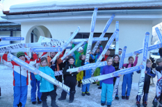 Grundschulwettbewerb Skispringen, Landesfinals 2015