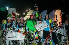 DM Alpin 2015, Siegerehrung Teambewerb