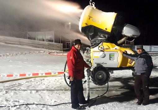 Schneeproguktion Techno Alpin