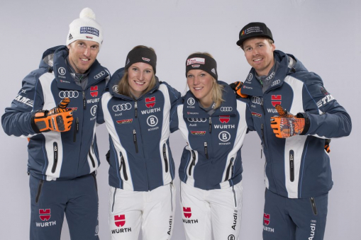 Fritz Dopfer, Lena Dürr, Maren Wiesler, Stefan Luitz