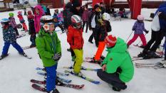 Grundschulwettbewerb Skispringen Thüringen