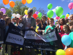 Felix Neureuther, Schule ohne Rassismus, Schule mit Courage