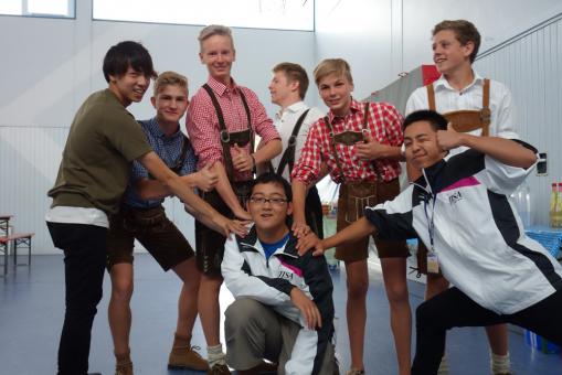 Deutsch-japanischer Sportjugend-Simultanaustausch