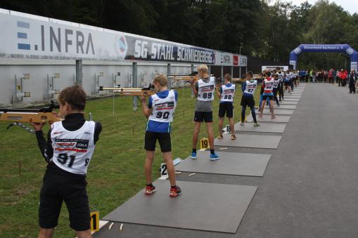 Sommerleistungskontrolle Biathlon S13 bis S15, Schmiedeberg