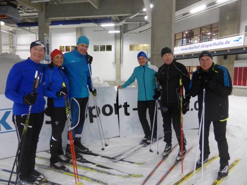 Oberhof Langlauf Lehrgang 201612