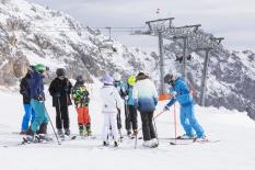 Skischulkurs