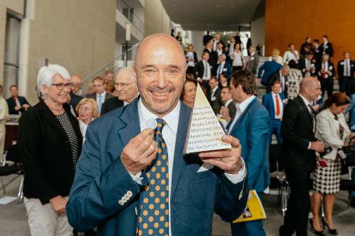 Christian Neureuther Goldene Sportpyramide