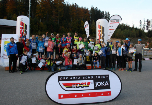 Deutsche Schülermeisterschaften Biathlon am Arber