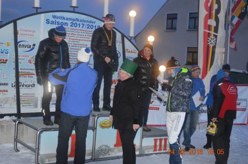 Deutsche Seniorenmeisterschaften Skilanglauf 2018, Johanngeorgenstadt