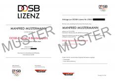 DOSB-Lizenz