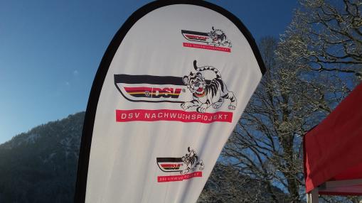 DSV Nachwuchsprojekt, Banner