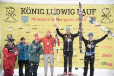 Deutsche Meisterschaften Skimarathon, Siegerehrung