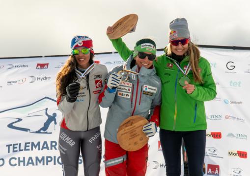 Johanna Holzmann, Sprint, Telemark-WM 2019, Rjukan