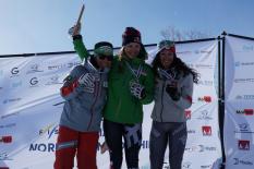 Johanna Holzmann, Parallelsprint, Telemark-WM 2019, Rjukan