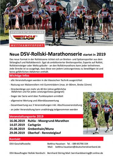 DSV-Rollski-Marathonserie 2019