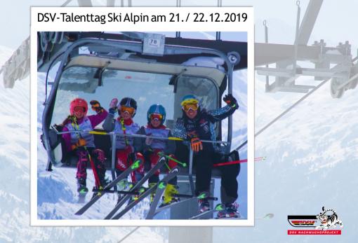 DSV-Talenttag Ski Alpin 2019/2020
